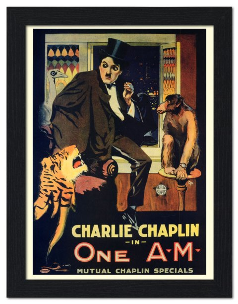 charlie-chaplin-one-am-silent-comedy-movie-poster