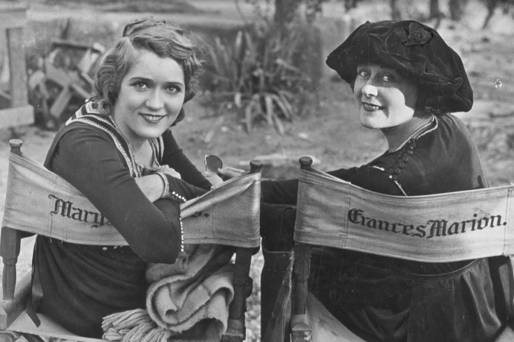 MARY PICKFORD AND FRANCES MARION ET LA FEMME CREA HOLLYWOOD
