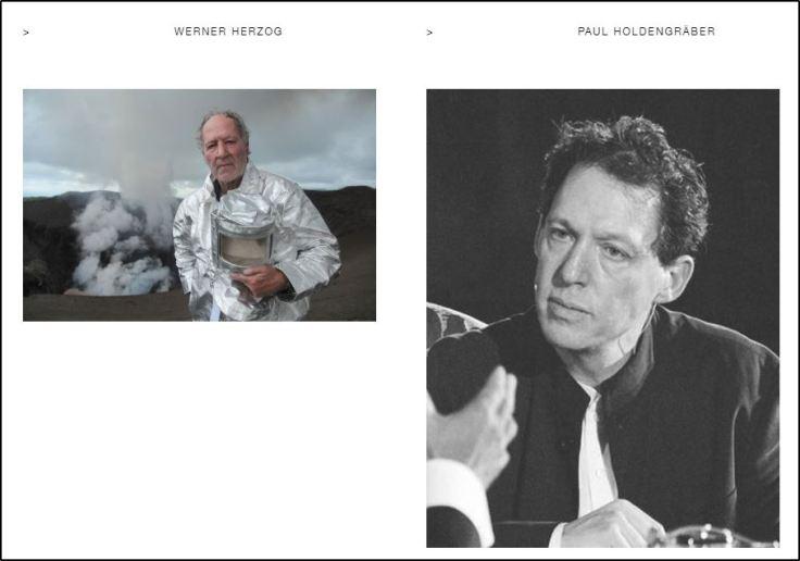 Werner Herzog- Paul Holdengräber